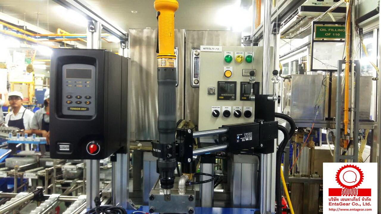 ติดตั้ง Atlas Copco Electric Nutruner, Tensor ETD DS72-50-13 & Controller
