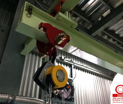 Installation of Yalelift 360 Hand Chain Hoist 1 Ton