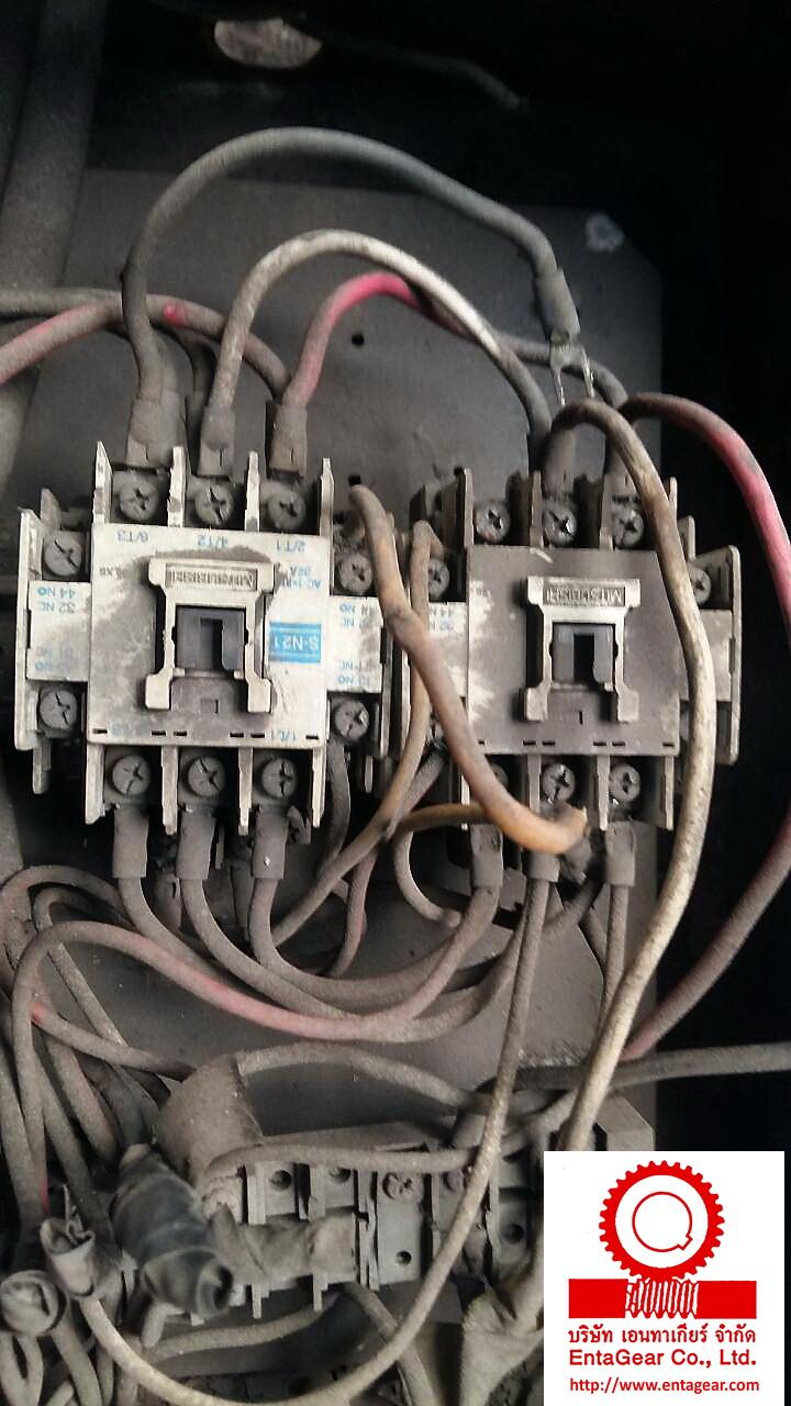 งานตรวจเช็คและปรับตั้งรอกโซ่ไฟฟ้า ขนาด 5 ตัน