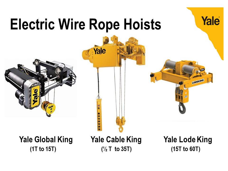 Yale Electric Wire Rope Hoists