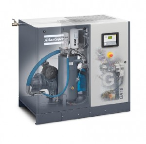 Oil-injected rotary screw compressors Model GA 18