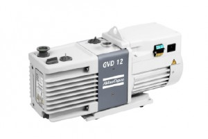 GVD 12, oil-sealed rotary vane vacuum pump