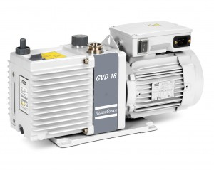 GVD 18, oil-sealed rotary vane vacuum pump