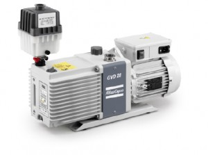 GVD 28, oil-sealed rotary vane vacuum pump