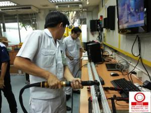 Operation Training อบรมการใช้งานอุปกรณ์เครื่องมือ Electric Nutrunner