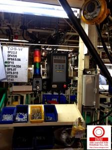 ติดตั้งและทดสอบระบบ Electric Nutrunner Tools Model ETP STR61-70-13