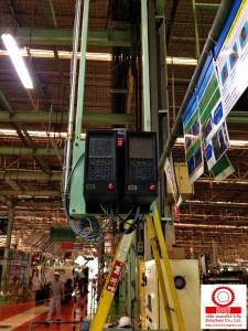 ติดตั้ง Atlas Copco Electric Nutrunner สำหรับงาน Wheel Nut