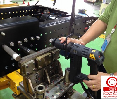 Installation of Atlas Copco Electric Nutrunner for Frame Assy