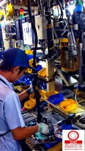 ติดตั้งและทดสอบระบบ Electric Nutrunner Tools Model ETC ST61-18-8-LI3