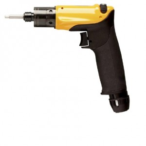 LUD12 HRX8 : Pneumatic, pistol balanced grip, direct drive screwdriver with trigger start