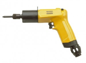 LUF34 HR16 : Pneumatic, pistol grip, slip-clutch screwdriver with trigger and push start