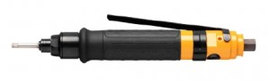 LUM12 SR1 : Pneumatic, straight, shut-off screwdriver with lever start and without push start