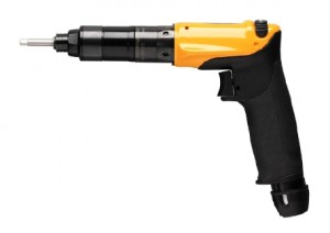 LUM22 HR10-P : Pneumatic pistol grip shut-off screwdriver with trigger start and push start