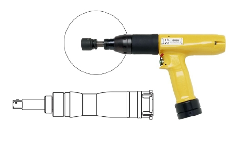 Tensor ETP DS7-30-10ST : Electric, pistol grip, telescopic nutrunner