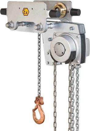 Hand Chain Hoist Model Yalelift LH ATEX