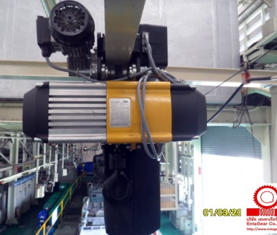 Preventive Maintenance for Yale Electric Chain Hoist Model CPVF 10-8, Loading Capacity 1 Ton