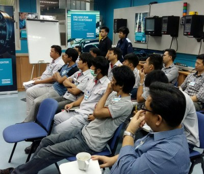"Operation Training อบรมเรื่อง ""Basic Tightening Tools and Electric Nutrunners Software"""