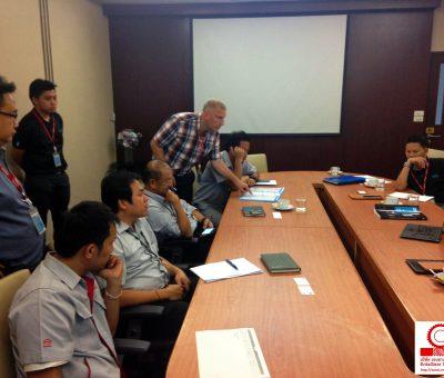 ทีมงาน Entagear พาวิศวกรผู้เชี่ยวชาญเกี่ยวกับระบบงานขันแน่นขันประประกอบจาก Atlas Copco เข้าเยี่ยมพบลูกค้ารายใหญ่ Hino Motors Manufacturing (Thailand) Ltd.